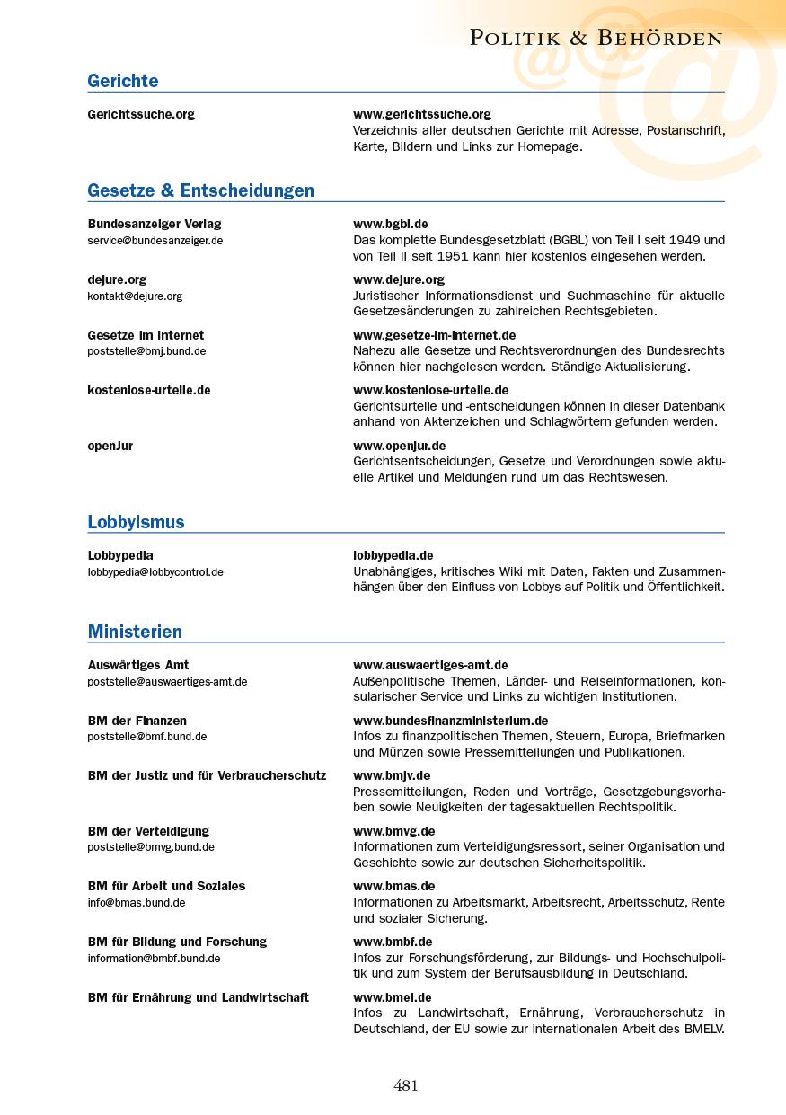 Politik & Behörden - Seite 481
