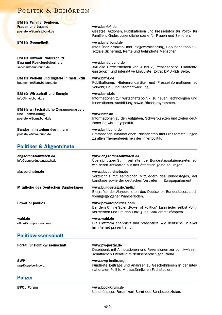 Politik & Behörden - Seite 482