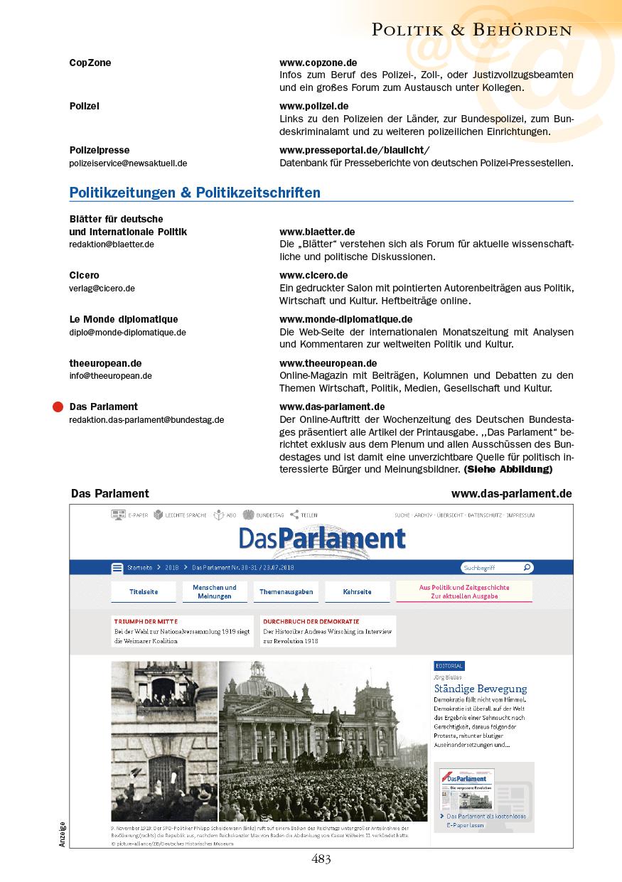 Politik & Behörden - Seite 483
