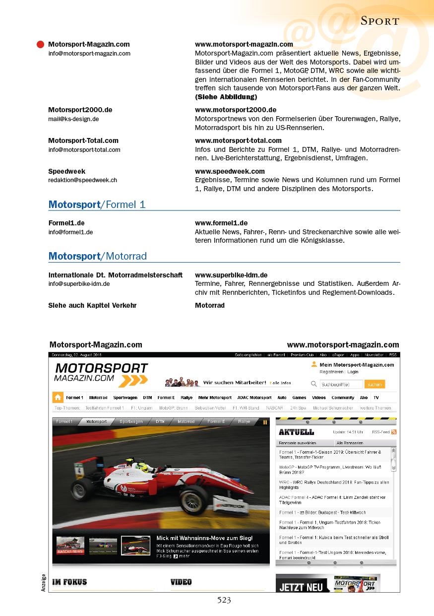 Sport - Seite 523