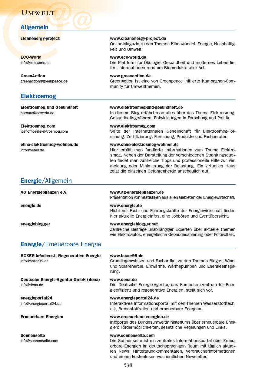 Umwelt - Seite 538