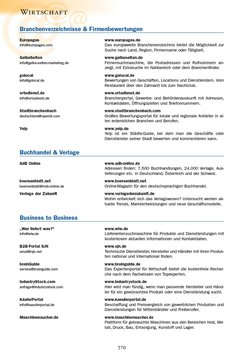 Wirtschaft - Seite 570