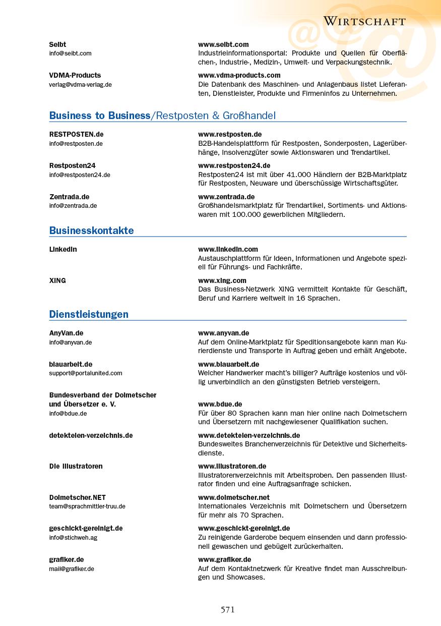 Wirtschaft - Seite 571