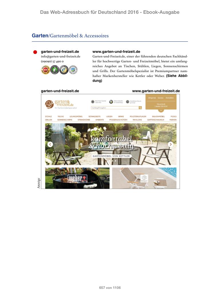 Screenshot des E-Books auf dem iPad