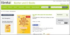 Das Web-Adressbuch bei libreka