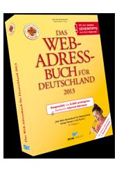 Neu! Das Web-Adressbuch für Deutschland 2013