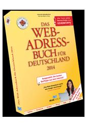 Neu! Das Web-Adressbuch für Deutschland 2014