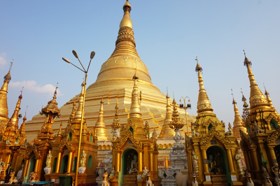 Gold, Goldener, Myanmar!