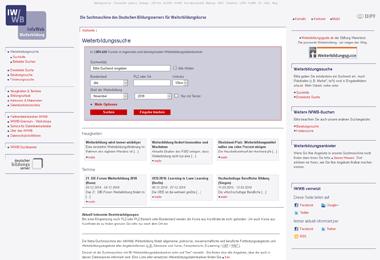 Info-Web Weiterbildung