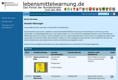 lebensmittelwarnung.de