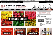 Pepperworld Hot Shop®